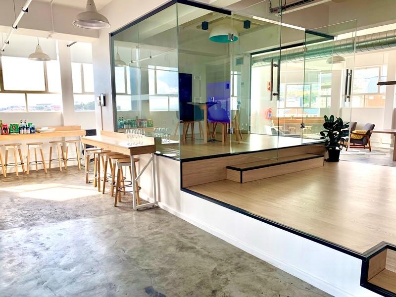 Platform meeting room