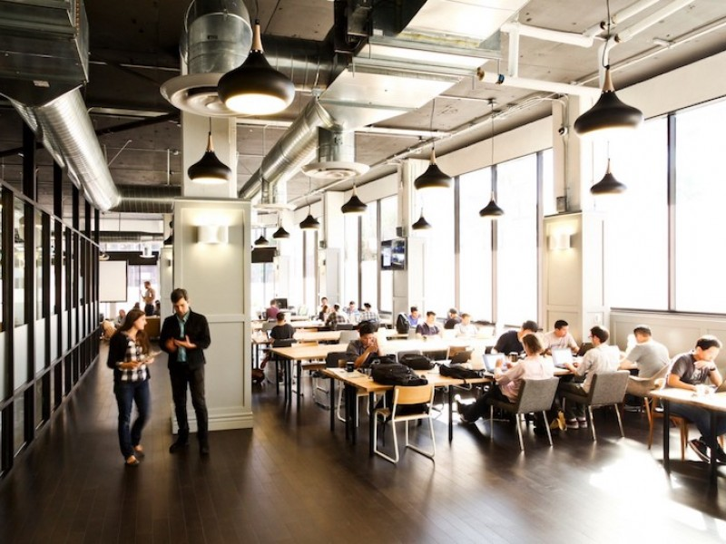The Big Co-working Office Trend