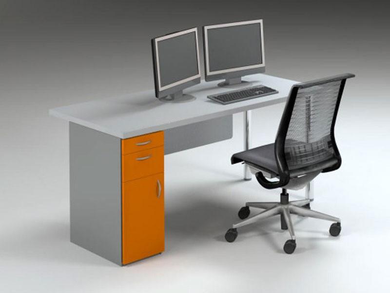 Rectangular Clerical Desk