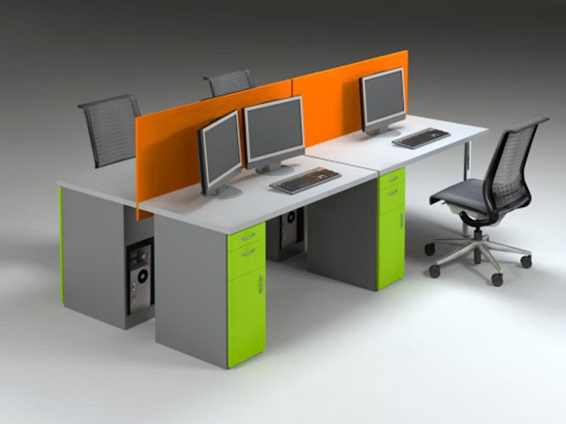 Row-Based Desks