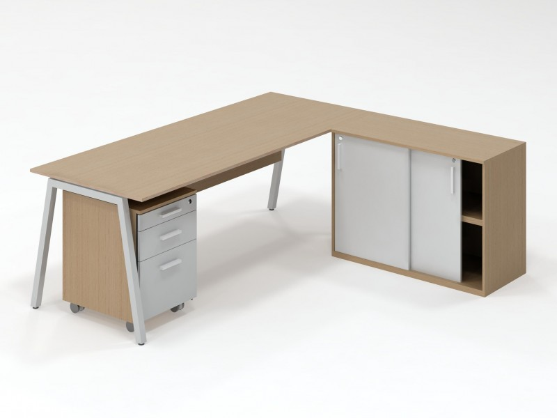 A-frame workstation