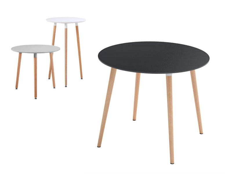 Slimline round tables